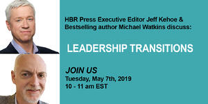 Career Transition Webinar May 7 2019